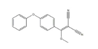 2-(Methoxy(4-phenoxyphenyl)Methylene)Malononitrile