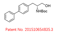R-tert-butyl (1-([1,1'-biphenyl]-4-yl)-3-hydroxypropan-2-yl)carbamate